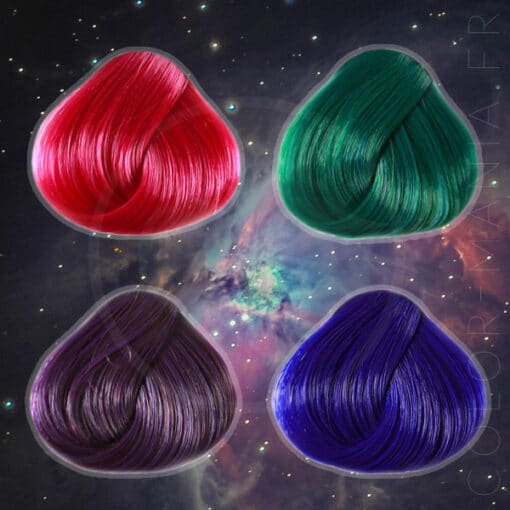 "Box Hair Colorations ""Galaxy Hair"" | Color-Mania"