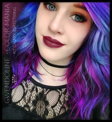 "Merci Gwendoline :) Kit Coloration Cheveux ""Galaxy Hair"" 