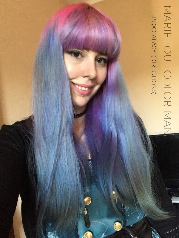 "Gracias Marie Lou :) Kit Hair Coloring ""Galaxy Hair"" | Color-Mania"