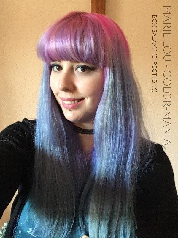 "Grazie Marie Lou :) Kit Hair Coloring ""Galaxy Hair"" | Color-Mania"