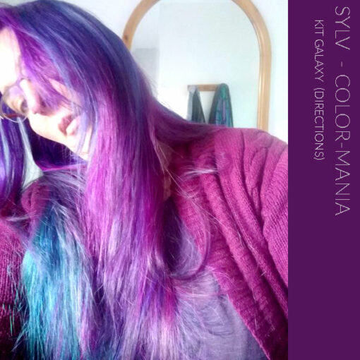 """Merci Sylv :) Kit Coloration Cheveux """"Galaxy Hair""""   Color-Mania"""