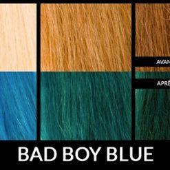 Coloration Cheveux Bleu Bad Boy Blue - Manic Panic