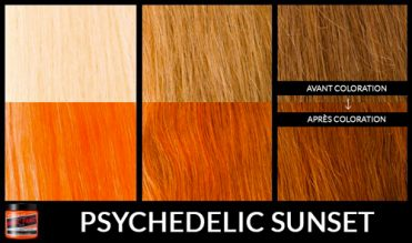 Coloration Cheveux Orange Psychedelic Sunset - Manic Panic | Color-Mania