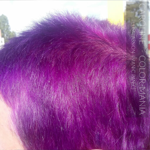 Merci Caroline :) Coloration Cheveux Violet Prune Plum Passion - Manic Panic | Color-Mania