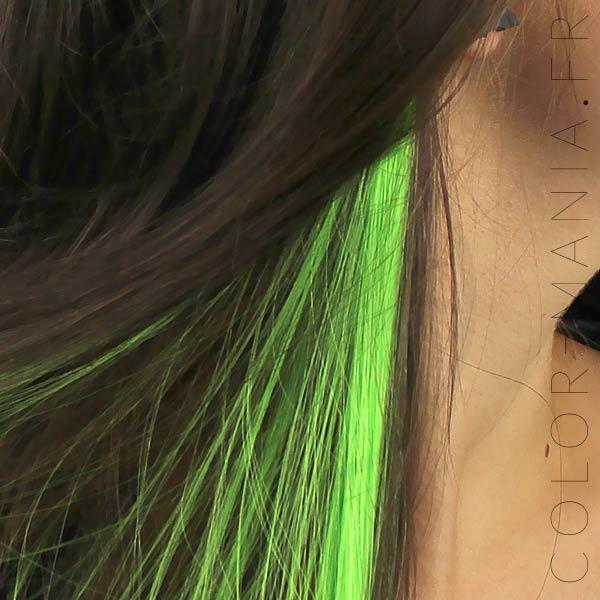 Extension Cheveux Vert Electric Lizard UV - Manic Panic | Color-Mania