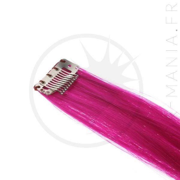 Extension Cheveux Rose Fuchsia Shock UV - Manic Panic