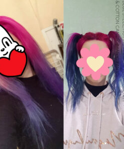 Merci Mag :) Coloration Cheveux Rose Hot Hot Pink UV - Manic Panic | Color-Mania