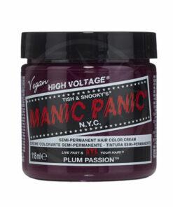 Coloration Cheveux Violet Prune Plum Passion - Manic Panic | Color-Mania