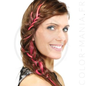 Extension Cheveux Rose Pretty Flamingo UV - Manic Panic | Color-Mania
