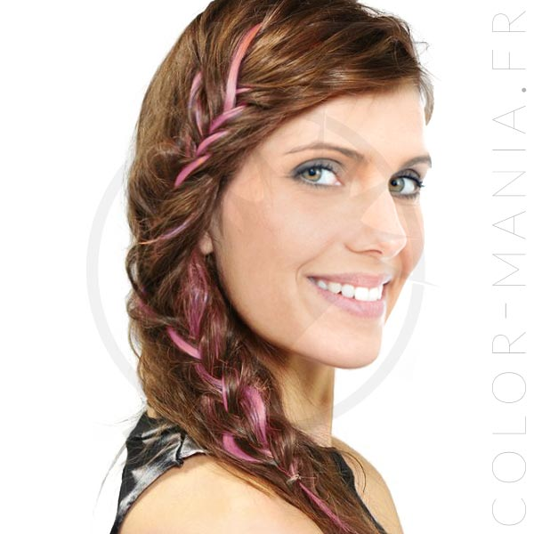 Extension Cheveux Rose Cotton Candy Pink UV - Manic Panic   Color-Mania
