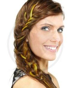 Extension cheveux jaune UV Manic Panic