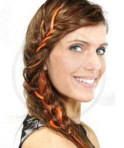 Extension Cheveux Orange Electric Lava UV - Manic Panic | Color-Mania