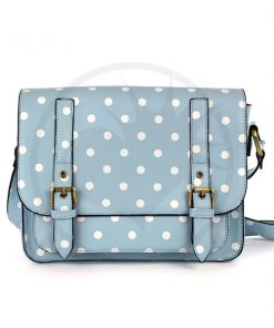 Satchel - Bolso Sky Blue Pea | Color-Mania