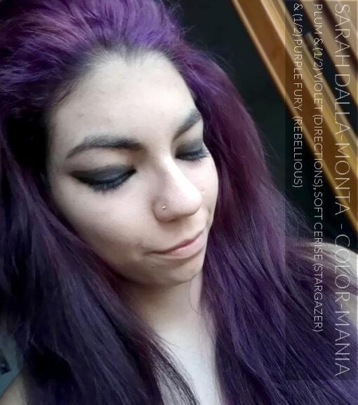 Merci Sarah Dalla-Monta :) Coloration Cheveux Violet Prune – Directions | Color-Mania