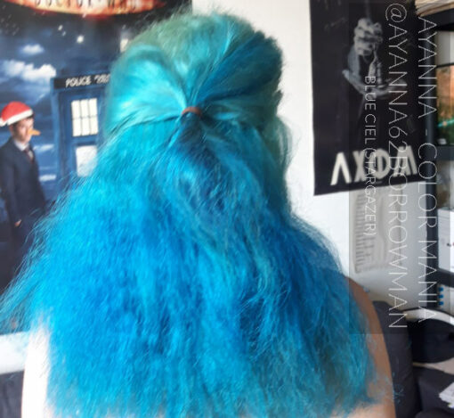 Merci ayanna62borrowman :) Coloration Cheveux Bleu Ciel - Stargazer | Color-Mania