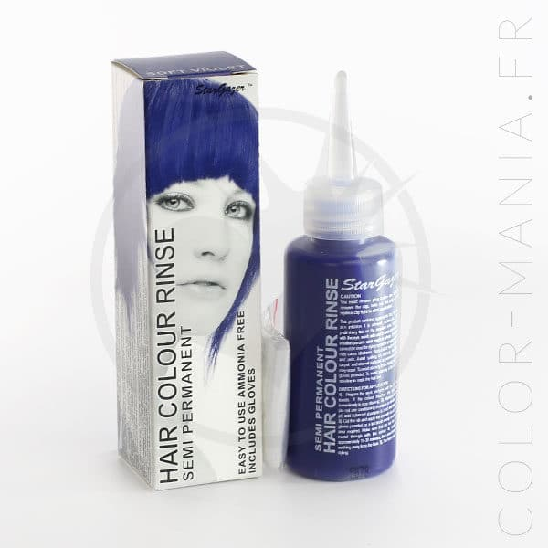 Bluish Hair Coloring Blue - Stargazer | Color-Mania