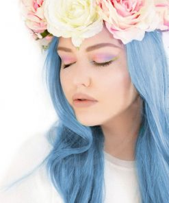 Blue Angel Blue Sky Coloring - Manic Panic | Color-Mania