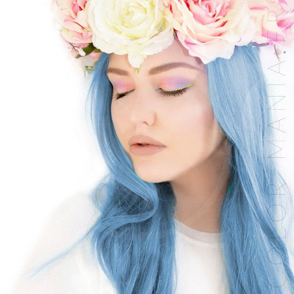 Blue Angel Sky Blue Hair Coloring - Manic Panic | Color-Mania