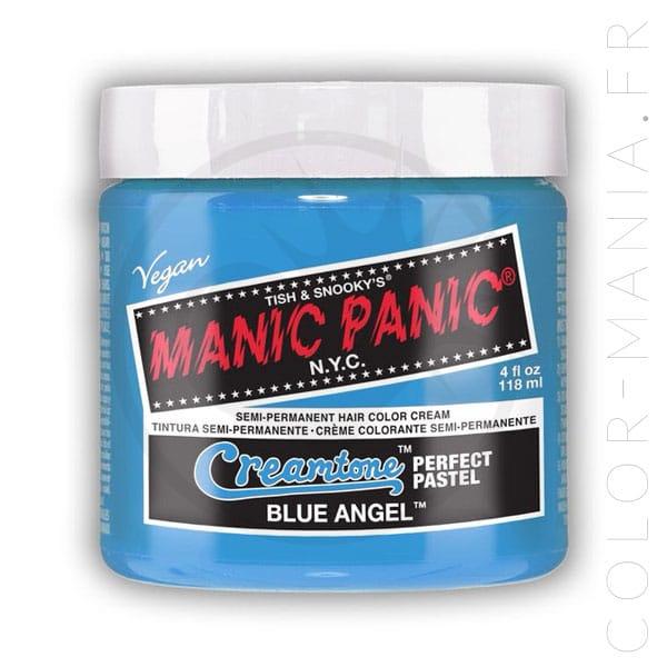 Coloration Cheveux Bleu Ciel Blue Angel - Manic Panic   Color-Mania