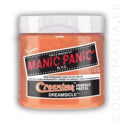 Dreamsicle Peach Coloring Hair - Manic Panic | Color-Mania