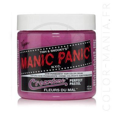 Coloration Cheveux Lavande Fleurs du Mal – Manic Panic | Color-Mania