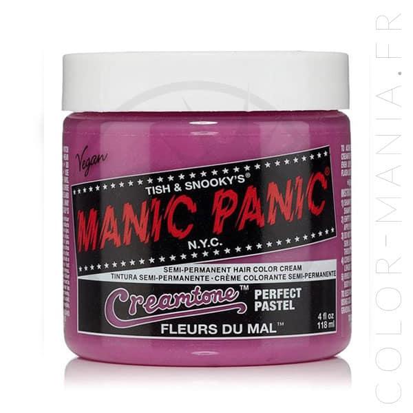 Coloration Cheveux Lavande Fleurs du Mal - Manic Panic | Color-Mania