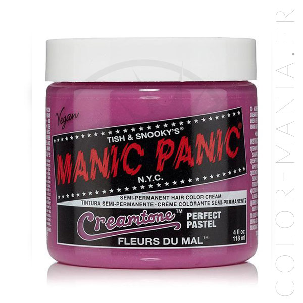 Hair Color Lavender Flores del mal - Manic Panic | Color-Mania