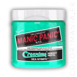 Sea Nymph Mint Green Hair Coloring - Manic Panic | Color-Mania