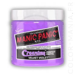 Color de pelo Lila Terciopelo púrpura - Pánico maníaco | Color-Mania