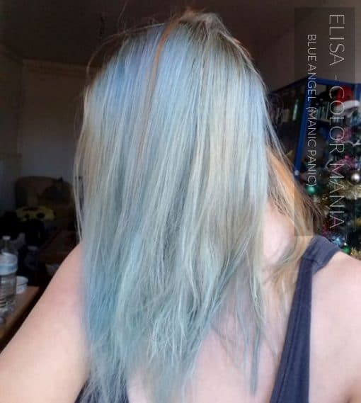 Grazie Elisa :) Blue Sky Hair Color Blue Angel - Manic Panic | Color-Mania
