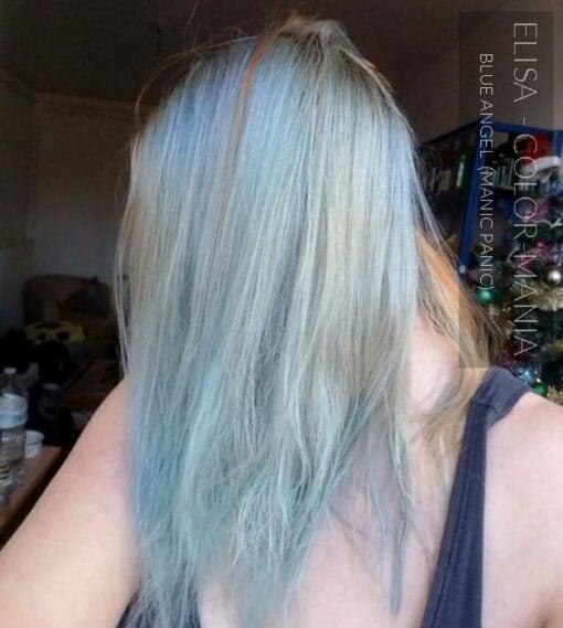 Merci Elisa :) Coloration Cheveux Bleu Ciel Blue Angel - Manic Panic | Color-Mania