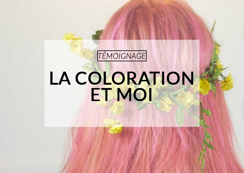 Färben von Haaren-Farbe-Manie
