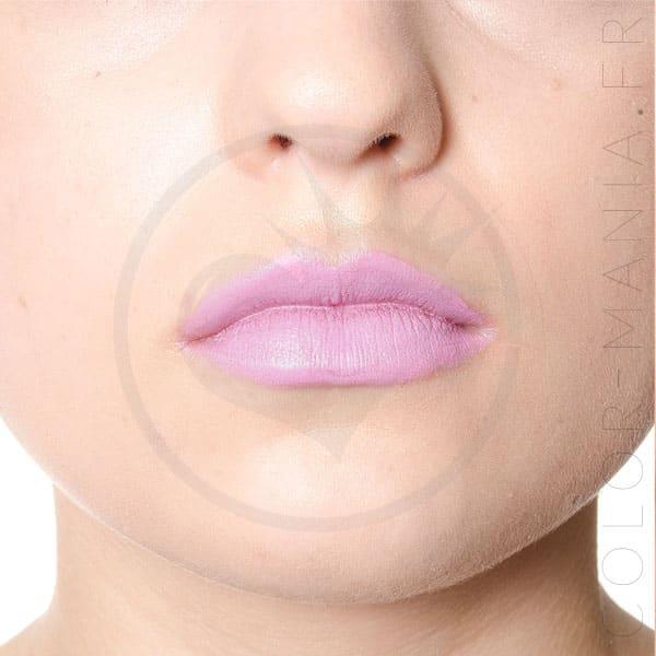 Lipstick Rose Lavender Flores del mal - Manic Panic | Color-Mania