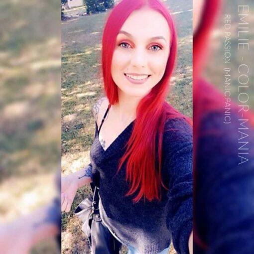Gracias Emilie :) Color de cabello rojo Pasión roja - Manic Panic | Color-Mania
