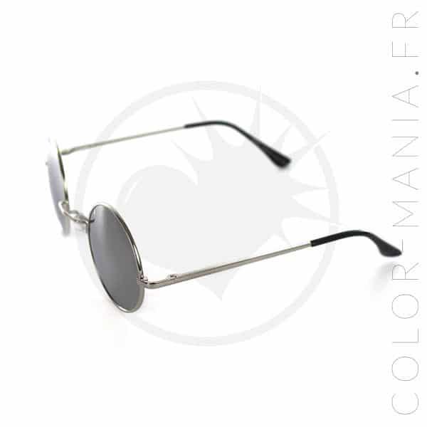 Gafas de sol redondas Mirror Effect Silver | Color-Mania