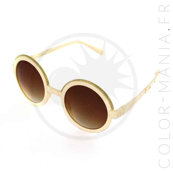 Gafas de sol redondas joyas retro | Color-Mania