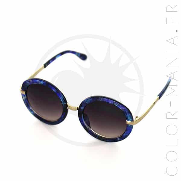 lunettes de soleil rondes oversize galaxie color mania. Black Bedroom Furniture Sets. Home Design Ideas