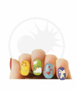 Pegatinas de uñas unicornio - Nail Art | Color-Mania