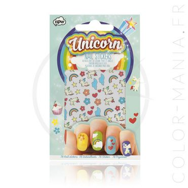 Stickers Ongles Licorne – Nail Art | Color-Mania
