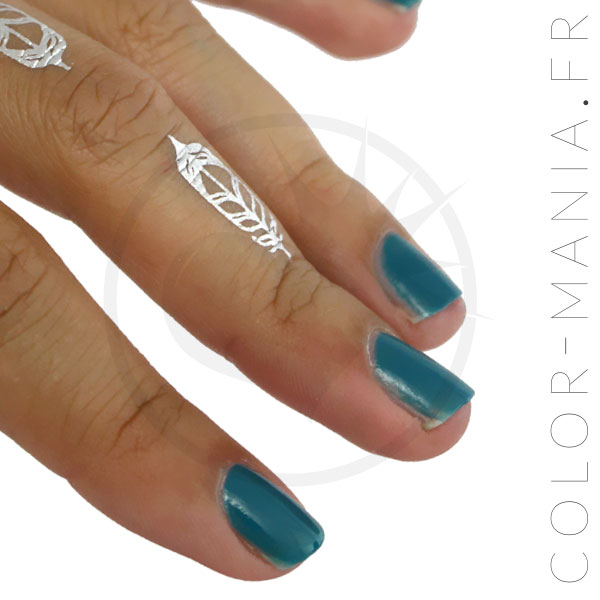 Lagoon Blue Nail Polish - Stargazer | Color-Mania