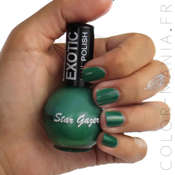 Exotic Green Nail Polish - Stargazer | Color-Mania