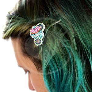 Barrettes Cupcakes « Eat Me » | Color-Mania