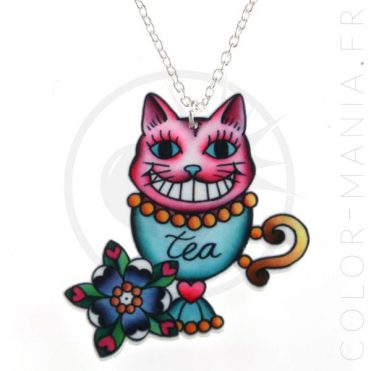 Collier Cheshire Cat | Color-Mania