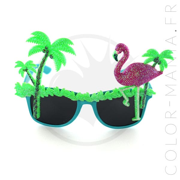 Gafas de fantasía tropical | Color-Mania