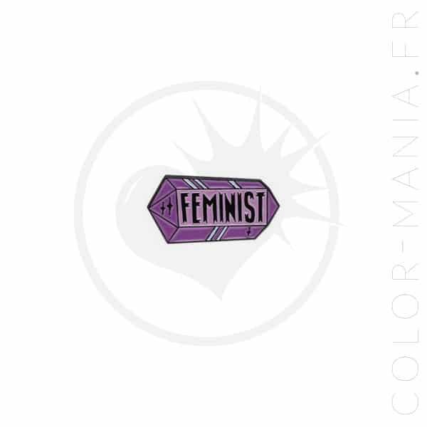 Feminista Crystal Parma Pin | Color-Mania