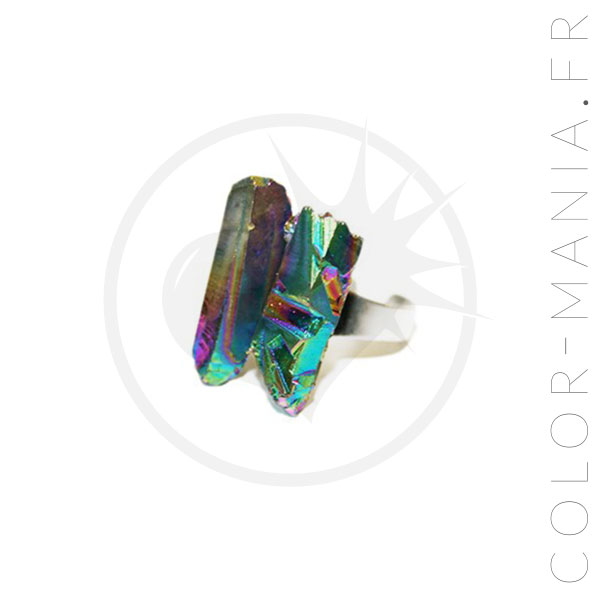Rainbow Crystals Ring Oil | Color-Mania