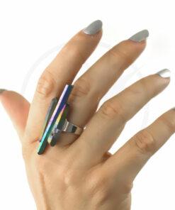 Olio per anello di cristalli arcobaleno | Color-Mania