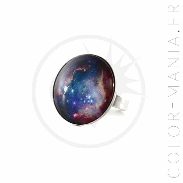 Bague Ronde Galaxie | Color-Mania