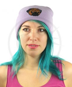 Gorro Morado Lila Pug Brown | Color-Mania