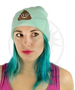 Feijão Verde Menta Emoji Caca | Cor-Mania